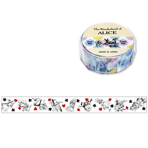 [MINDWAVE] 마인드웨이브 Masking Tape : Alice 모노 / 마인드웨이브 마스킹테이프 / 앨리스 마테