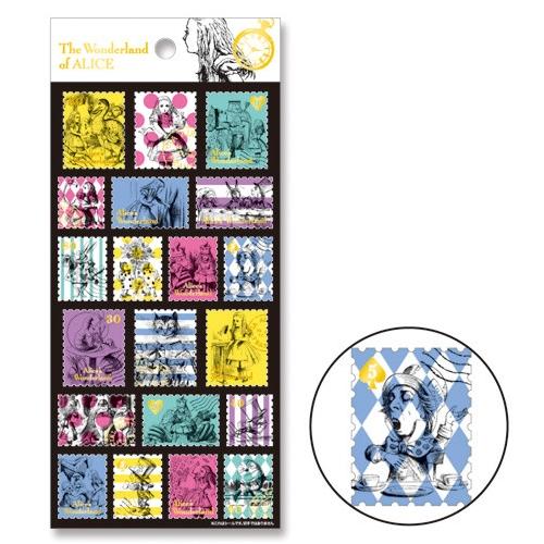 [MINDWAVE] 마인드웨이브 앨리스 콜라보 씰 : 우표