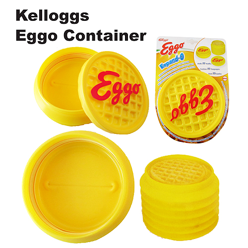 Kellogs Eggo Container 켈로그 에고 씨리얼 보관용기
