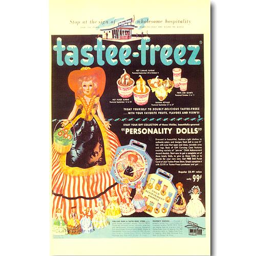 빈티지 포스터 Tastee-freez