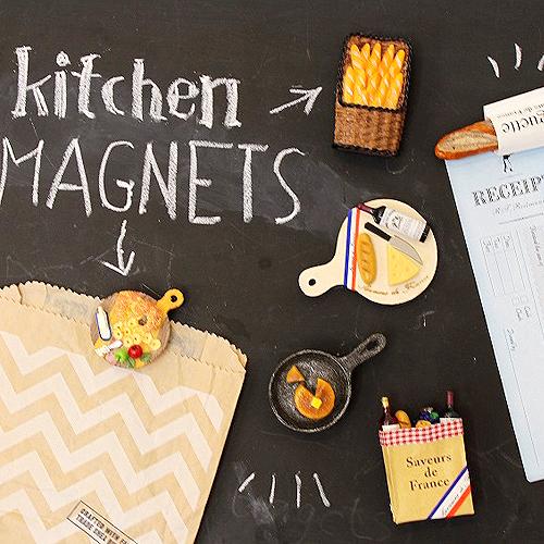유니크 키친 마그넷 시리즈 : 12 Type