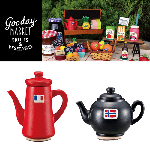 [DECORE] 데꼴 Goodday Market TeaPot Stamp : 2 Type