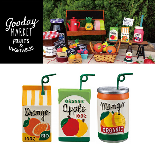 [DECORE] 데꼴 Goodday Market Fruits Juice Card Stand : 3 Type