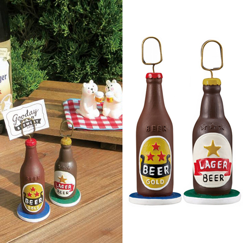 [DECORE] 데꼴 Goodday Market Beer Card Stand : 2 Type