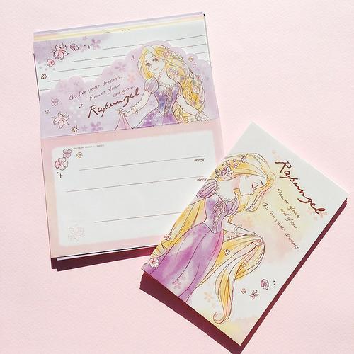 [DISNEY] 디즈니 SHINE DREAM 편지지: 라푼젤