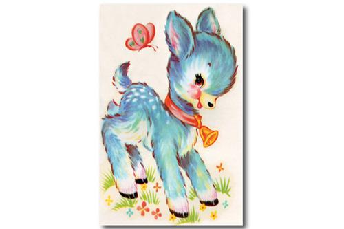 빈티지 포스터 Cutie Puppy