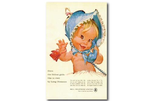 빈티지 포스터 Cutie Baby