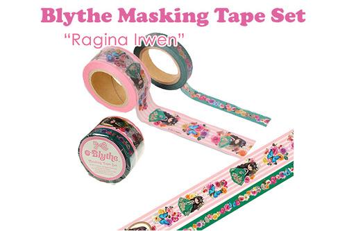[BLYTHE] 브라이스 마스킹테이프 SET : Ragina Irwen